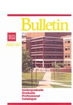 UMSL Bulletin 1992-1993