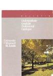 UMSL Bulletin 1988-1989