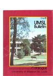 UMSL Bulletin 1986-1987