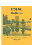 UMSL Bulletin 1982 by University of Missouri-St. Louis