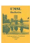 UMSL Bulletin 1982