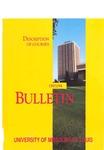 UMSL Bulletin 1993-1994 Description of Courses