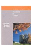 UMSL Bulletin 1988-1989 Description of Courses