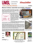 Faculty Newsletter Fall 2014