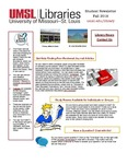 Student Newsletter Fall 2018 by University of Missouri-St. Louis