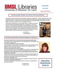 Faculty Newsletter Fall 2019 by University of Missouri-St. Louis