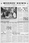 Mizzou News, November 08, 1965